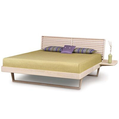 Contour Platform Bed Size: California King, Finish: Natural Walnut