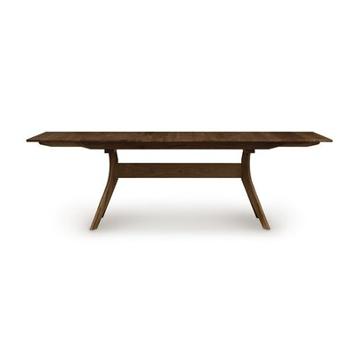 Audrey Extendable Dining Table Color: Saddle Cherry
