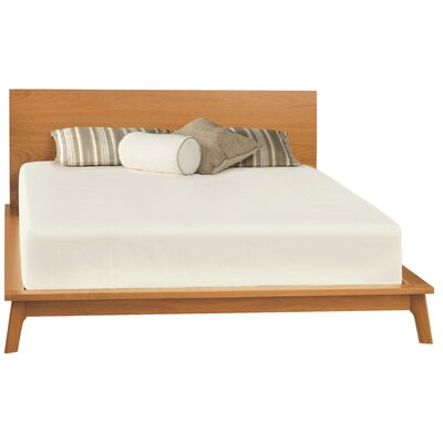 Catalina Platform Bed Upholstery: King, Headboard Size: 37