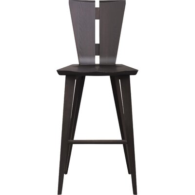 Axis 30 Bar Stool Color: Taupe Ash