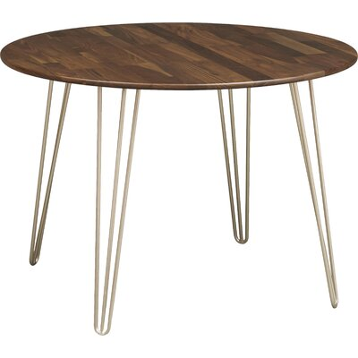 Essentials Dining Table Color: Natural Cherry, Leg Material: Wood