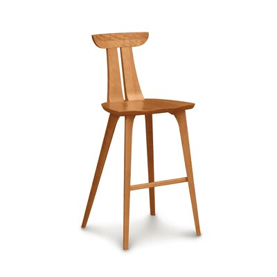 Estelle 30 Bar Stool Finish: Cognac Cherry
