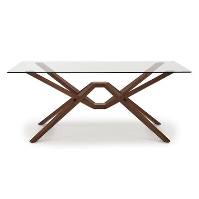 Exeter Dining Table Size: 30 H x 72 W x 42 D, Finish: Saddle Cherry