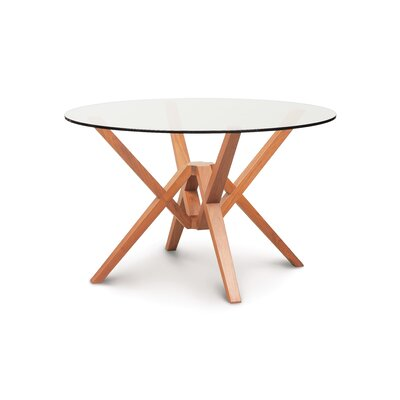 Exeter Dining Table Base Finish: Saddle