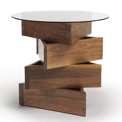 Twist Statements End Table