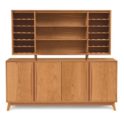 Catalina Dining Hutch Color: Natural Cherry