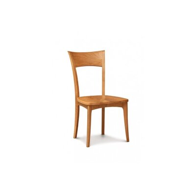 Ingrid Solid Wood Dining Chair Color: Cognac Cherry