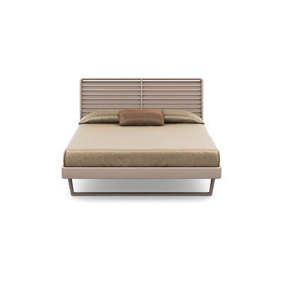 Contour Platform Bed Size: King, Color: Soaped Ash