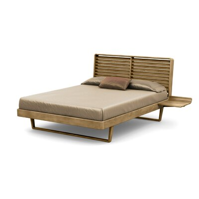 Contour Platform Bed Size: California King, Color: Sand Ash