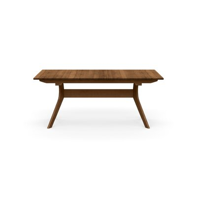 Audrey Extendable Dining Table Color: Saddle Cherry, Size: 30 H x 42 W x 72 D