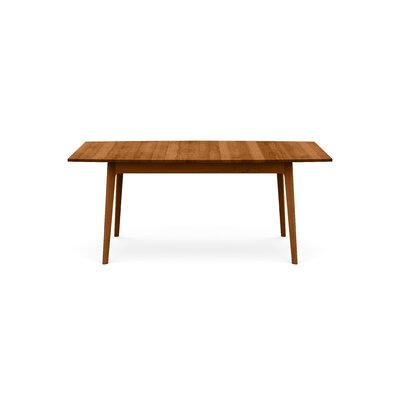 Catalina Extendable Dining Table Color: Autumn Cherry, Size: 30 H x 72 W x 46 D