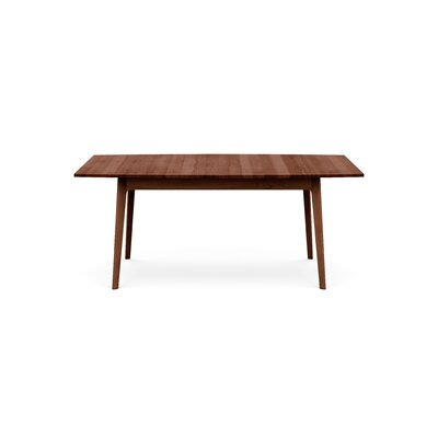 Catalina Extendable Dining Table Color: Cognac Cherry, Size: 30 H x 72 W x 46 D