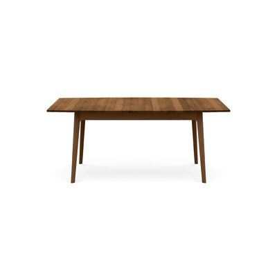 Catalina Extendable Dining Table Color: Saddle Cherry, Size: 30 H x 72 W x 46 D