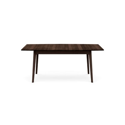 Catalina Extendable Dining Table Color: Smoke Cherry, Size: 30 H x 72 W x 46 D