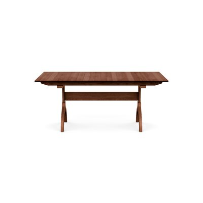 Sarah Extendable Dining Table Color: Cognac Cherry, Size: 30 H x 72 W x 42 D
