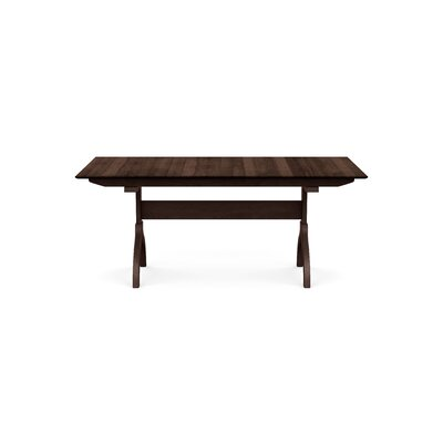 Sarah Extendable Dining Table Color: Smoke Cherry, Size: 30 H x 72 W x 38 D
