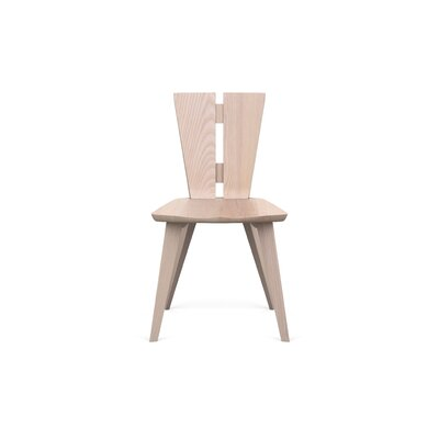 Axis Solid Wood Dining Chair Finish: Soaped Ash