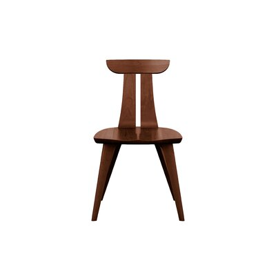 Estelle Solid Wood Dining Chair Color: Cognac Cherry