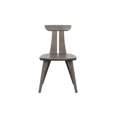 Estelle Solid Wood Dining Chair Color: Weathered Ash
