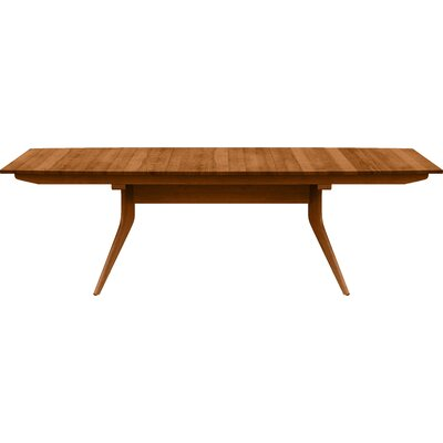 Catalina Extendable Dining Table Color: Autumn Cherry, Size: 30 H x 40 W x 72 D