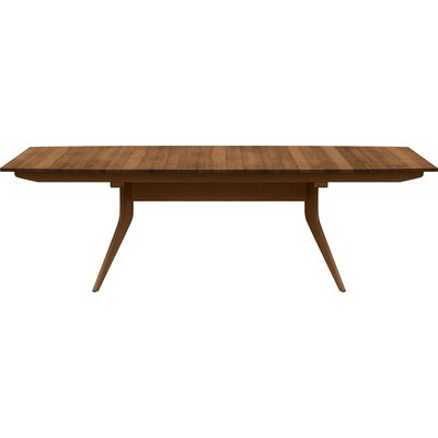 Catalina Extendable Dining Table Finish: Saddle Cherry, Size: 30 H x 46 W x 66 D