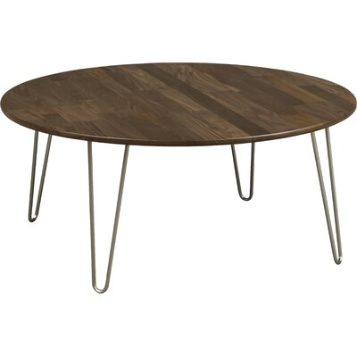Essentials Coffee Table Top Color: Natural Walnut