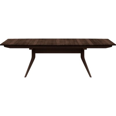 Catalina Extendable Dining Table Finish: Smoke Cherry, Size: 30 H x 46 W x 66 D