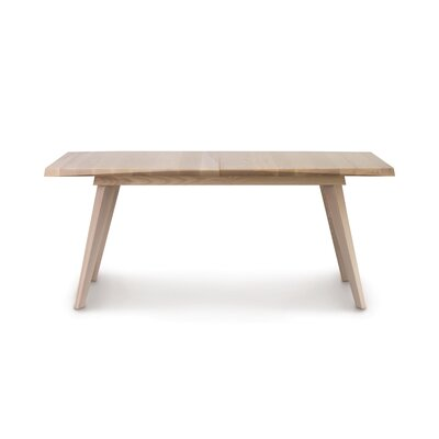 Axis Easystow Extension Dining Table Color: Soaped Ash, Size: 36 H x 72 W x 54 D
