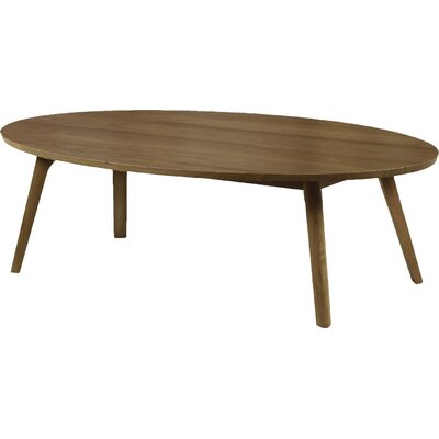 Catalina Coffee Table Size: 13.75, Color: Natural Walnut