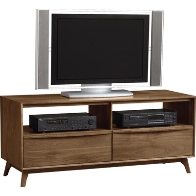 Catalina 53-66 TV Stand Color: Natural Walnut, Size: 66