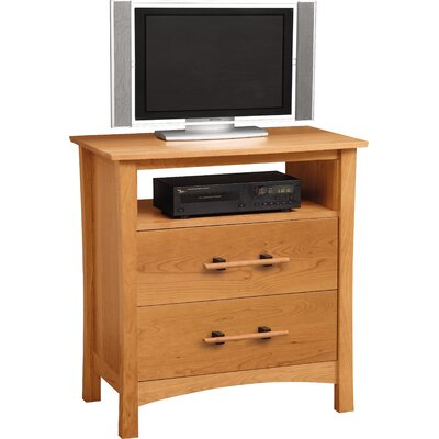 Monterey 34 TV Stand Color: Natural Cherry
