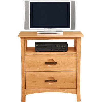 Berkeley 34 TV Stand Color: Natural Cherry