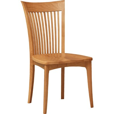 Sarah Solid Wood Dining Chair Color: Natural Cherry