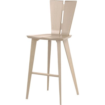 Axis 30 Bar Stool Color: Soaped Ash