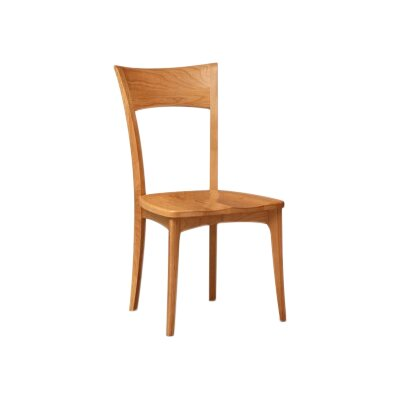 Ingrid Solid Wood Dining Chair Color: Saddle Cherry