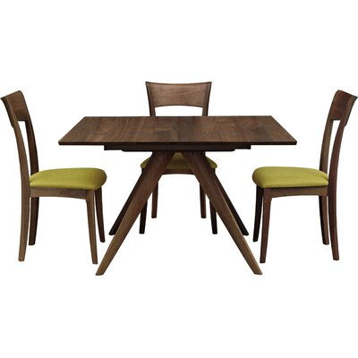 Catalina Extendable Dining Table Color: Natural Walnut