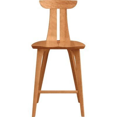 Estelle 26 Bar Stool Finish: Natural Cherry