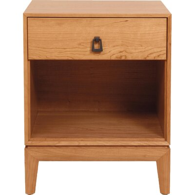 Mansfield 1 Drawer Nightstand Color: Natural Cherry