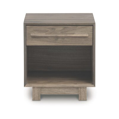 Sloane 1 Drawer Nightstand Frame Color: Weathered Ash