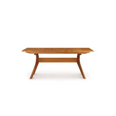 Audrey Extendable Dining Table Color: Natural Cherry