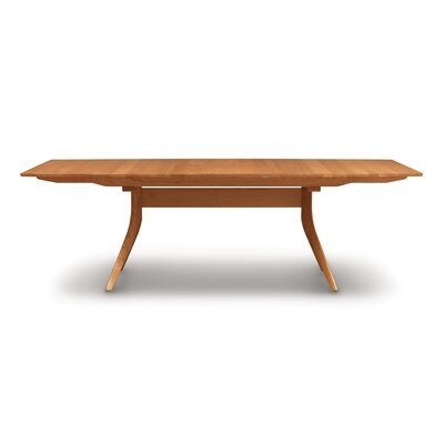 Catalina Extendable Dining Table Color: Natural Cherry, Size: 30 H x 40 W x 60 D