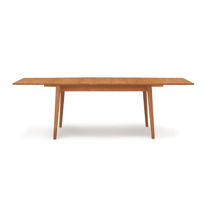 Catalina Extendable Dining Table Finish: Natural Cherry, Size: 30 H x 66 W x 46 D