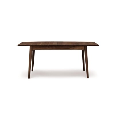 Catalina Extendable Dining Table Color: Natural Walnut, Size: 30 H x 72 W x 40 D