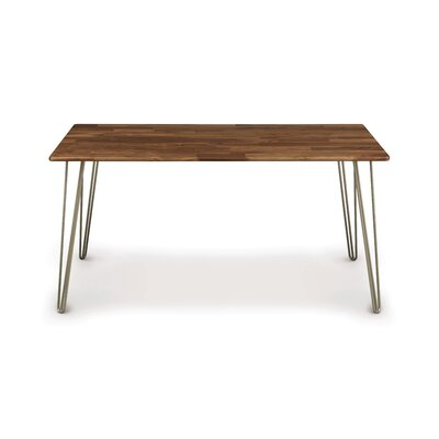 Essentials Dining Table Top Finish: Natural Walnut