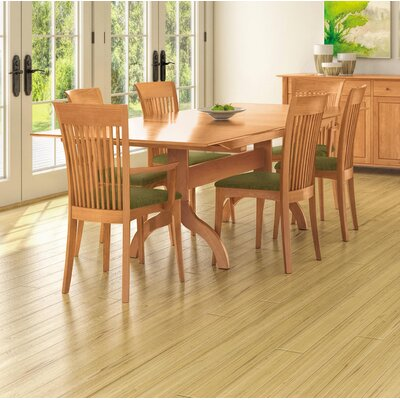 Sarah Trestle Extendable Dining Table Color: Natural Cherry