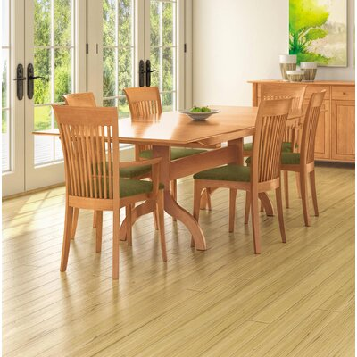 Sarah Extendable Dining Table Color: Natural Cherry