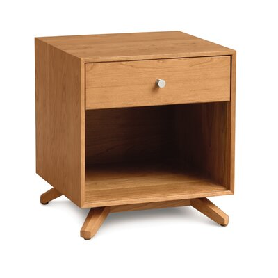 Furniture financing Astrid Nightstand Finish: Natural C...