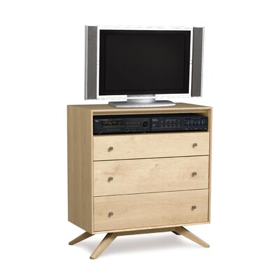Furniture rental Astrid 3 Drawer Chest with Media Or...