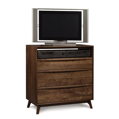 Easy financing Catalina 3 Drawer Chest and Media O...