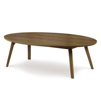 Catalina Coffee Table Size: 13.75, Finish: Natural Walnut